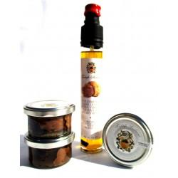 Carpaccio flakes Summer Truffle 25g (x3) + Olive Oil EVO Spray T. White 80g BIO GOURMET SICILIABIO GOURMET SICILY