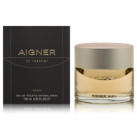 In Leather Man Aigner for men 125ml EDT natural spray