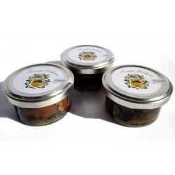 Carpaccio scaglie Tartufo Nero Estivo Siciliano - 25g (x3), in salamoia al naturale fette Gourmet (Tuber aestivum Vitt)