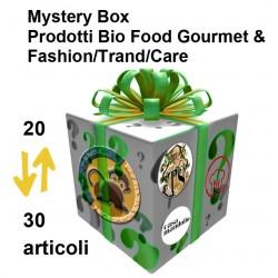 Mystery Box Deluxe: Scatola mistero prodotti Bio Food Gourmet Sicilia + Fashion / Trand / Care