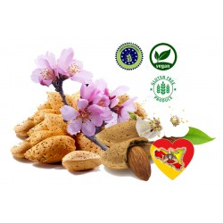 Sweet almonds in semi-hard shell 2Kg - Organic Agriculture SICILY: goodness, heat yield