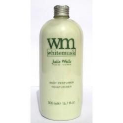 Wm WhiteMusk Julie Wells New York Body Perfumed Moisturiser 500ml