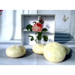 Saponette profumate Rose 4 x 150g - Made in France, Savon per la casa ed il bagno