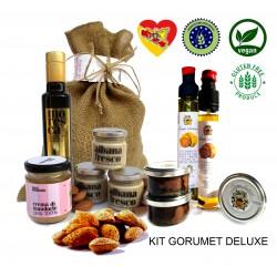 1KG Mandorle amare in guscio biologiche + olio + carpaccio di tartufo + crema albana fresco SICILIA