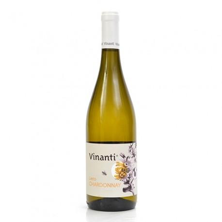 "Vino Bianco Biologico Terre Siciliane Chardonnay IGT ""Lieto"" 2016 Cantine Vinanti"