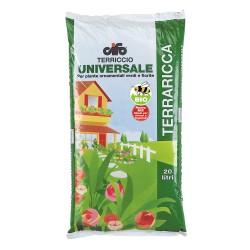 Terriccio universale per piante ornamentali verdi e fiorite terraricca