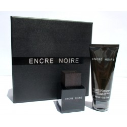 Encre Noire Lalique parfums Paris EDT 50ml + Shower Gel 100ml - Confezione Regalo fashion