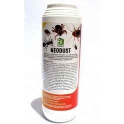 NEODUST insetticida in polvere contro formiche, scarafaggi, insetti strisciandi, zecche, acari 1KG