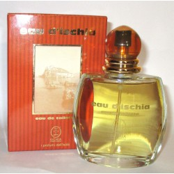 Eau d'Ischia for man red 100ml EDT vapospray - Original Rare Italy parfum