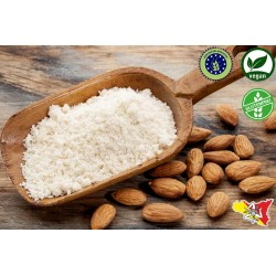 250gr Farina di Mandorle dolci Biologiche Sicilia, macinate senza glutine vegan