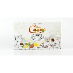 Confetti cioccomandorla aromatizzati alla fragola Dualcioc Capasso confezione da 1 kg
