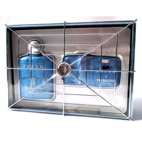 Confezione Trussardi donna FRESH EDT 50ml spray parfums + Vintage Panorama Camera
