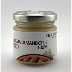 Crema di MANDORLE 100% Bio 90gr, sfiziosa, gustosa e spalmabile senza zuccheri