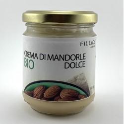 Crema di MANDORLE dolce Bio 190gr