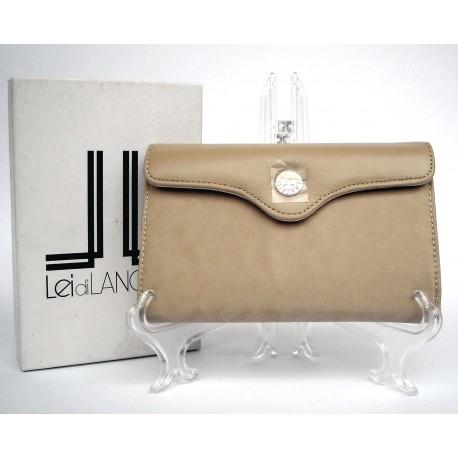 Portafoglio Lancetti Beige07 stile Trifold Dafne - New, Elegant, Fashion