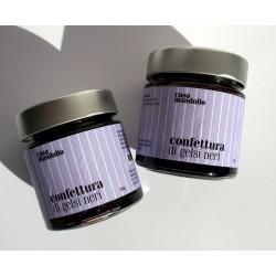 x2 Confettura di Gelsi Neri 280gr, Marmellata 100% Gourmet Siciliana