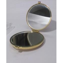 Janeke 1830 specchio da borsa colore oro donna RARE