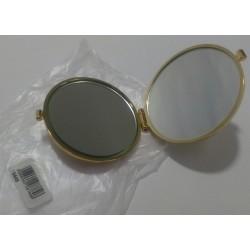 Janeke 1830 Specchio da borsa colore oro RARE