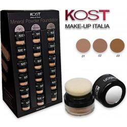 Fondotinta in polvere KOST Make up Italia varie tonalità