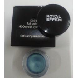 Royal Effem Full colour H2Oproof Eyeshadow 003 acquamarina Donna ml. 4