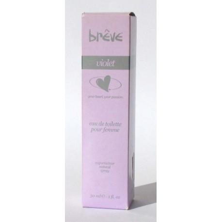 breve pour femme VIOLET 30ml EDT - Original Rare Italy Parfum