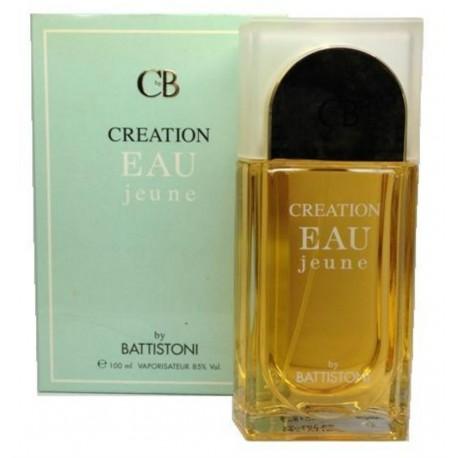 Creation Eau jeune Battistoni 100ml natural spray - Very Rare Original Italy Parfum