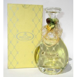 Bottiglia Decorativa in vetro raffinato design riempite con bagni schiuma 200ml (Giallo) - Franco Zarri
