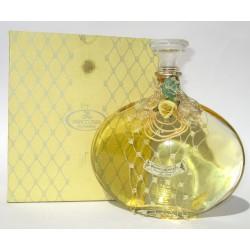 Bottiglia Decorativa in vetro raffinato design riempite con bagni schiuma 500ml (Giallo) - Franco Zarri