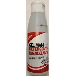 Gel mani detergente igienizzante 100ml, pratico e rapido, con alcool - battericida