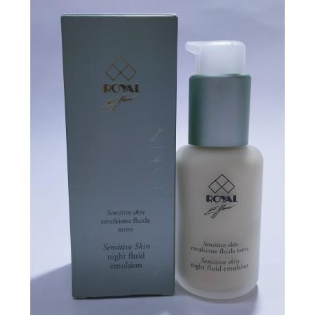 Royal Effem Sensitive Skin Emulsione fluida notte Donna 50 ml