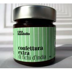 Confettura extra di Fichi d'India 280gr, Marmellata Specialità Gourmet Siciliana