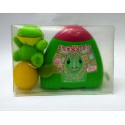 Valisette Isidoro Bambino Zimbo doccia shampoo 300 ml. portachiavi Spugna forma frutta