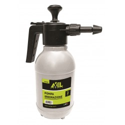 Pompa irrorazione 2 lt Axel, adatta per disinfestare e spruzzare prodotti liquidi su piante arbusti ed ambienti interni ed est