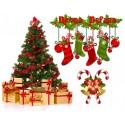 Decorazioni e alberi di Natale