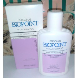 Personal Biopoint Vital Shampoo Capelli Permanentati e colorati 200ml Women