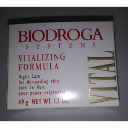 Biodroga Vitalizing Formula Night Care for demanding skin 50 ml. Woman