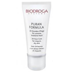 Biodroga Puran Formula 24- hour Care for impure, dry skin 50 ml. Woman