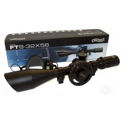 Cannochiale Riflescope da campo FT 8mm Mirino 8-32x56 WALTHER n°2.1525