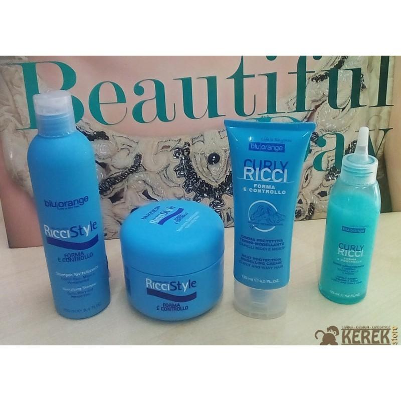 ... Curly Ricci Blu Orange Crema protettiva Capelli ricci e mossi 125 ml OVP fde5fab266bd