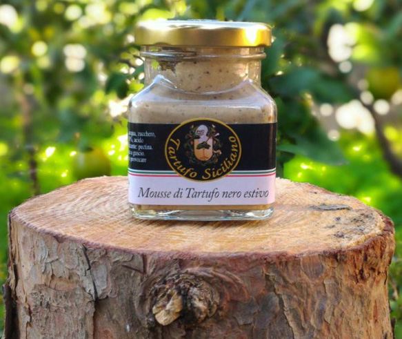 Not just coffee! Fresh, delicious and gourmet summer breakfast with summer black truffle mousse